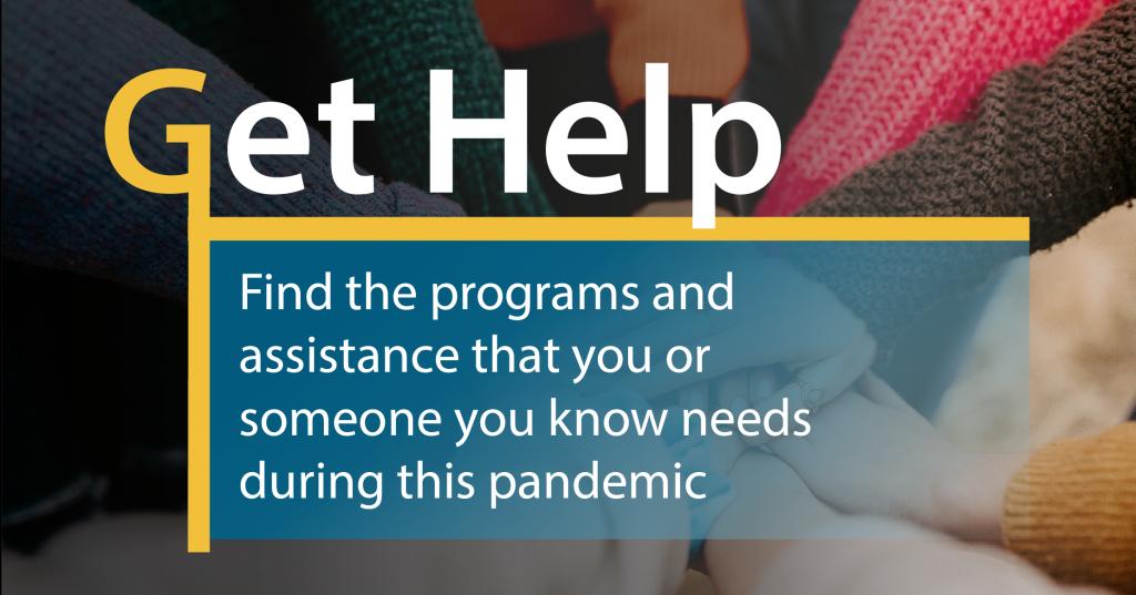 Get Help homepage